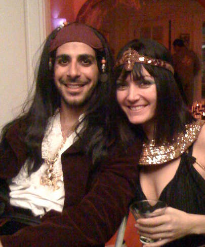 Pirate and Cleopatra