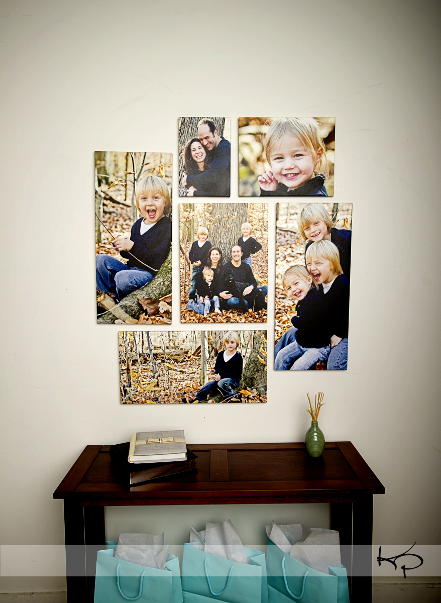 Cleveland family photography you can pick your nose Painting arrangements on wall